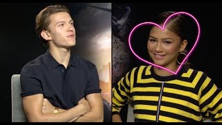 Wait...Did Tom Holland Just Confirm He Has A Crush On Zendaya? | PopBuzz Meets