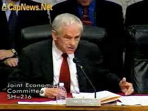 RON PAUL v. FED CHAIR BERNANKE: Free Market Smackdown!
