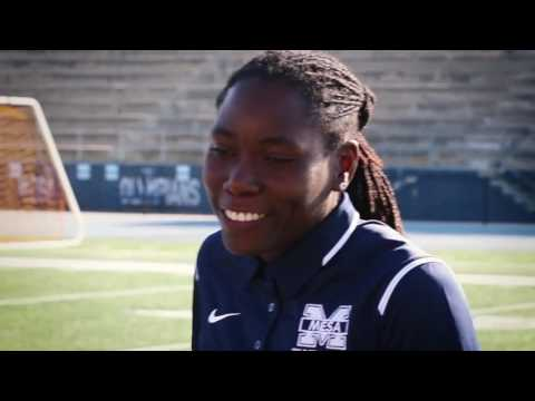 Brittney Reese - San Diego Mesa College Coach and Olympic Gold Medalist