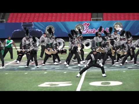 Hightower High School Peach Bowl 2015 Band competion in Atlanta Short clip