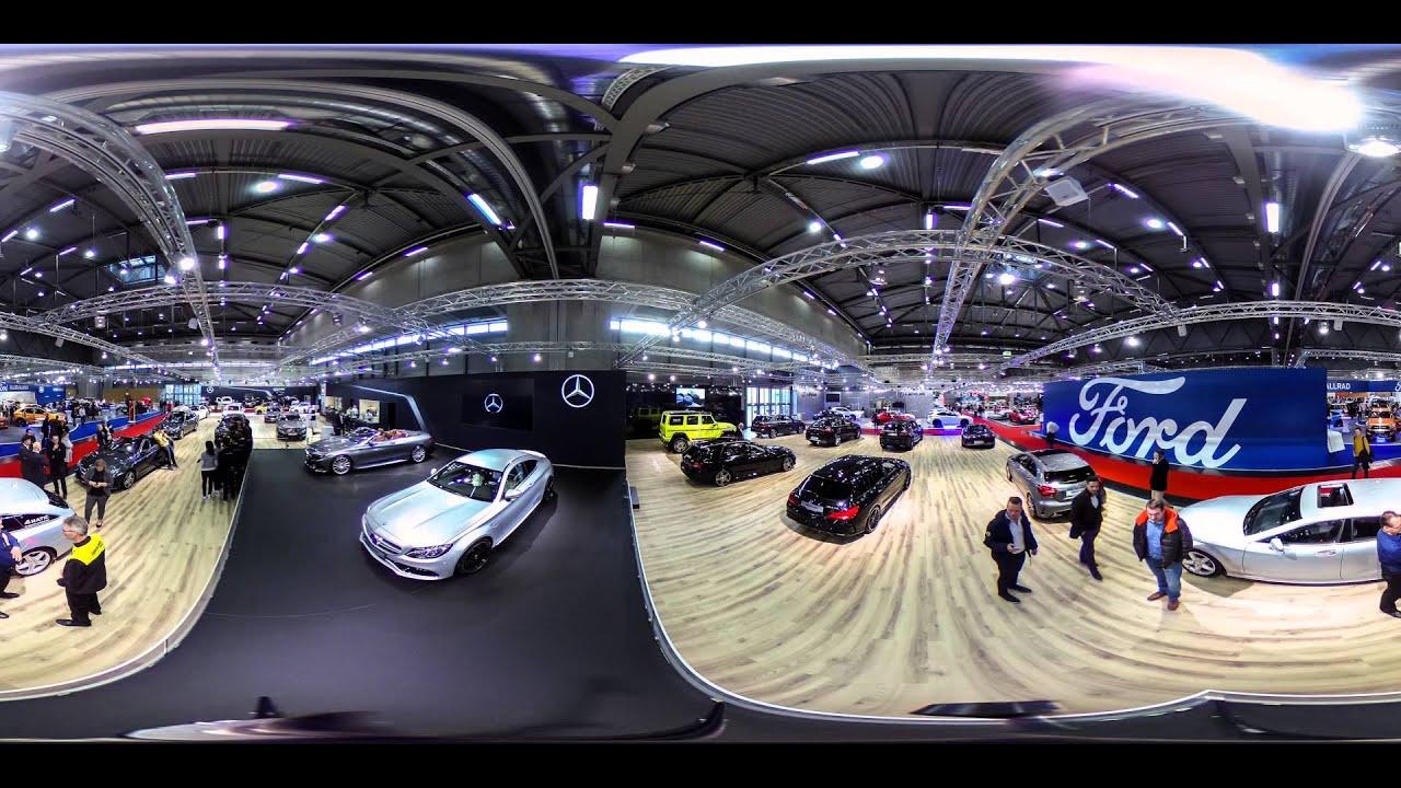 360 video mercedes benz auf der vienna autoshow 2016