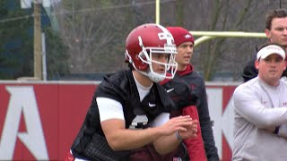 Arkansas Football Starts Spring Practice