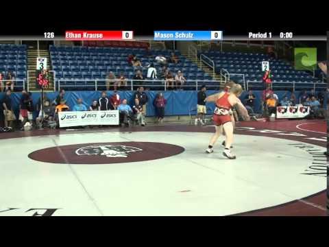 126 Ethan Krause vs. Mason Schulz