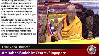 Gambar cover 20180926 2100 LZR ABC, Singapore - Amitabha Pure Land how to go there. Amitabha long life initiation