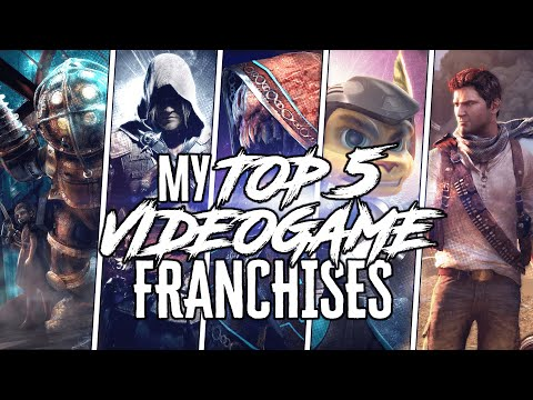 My Top 5 Favorite Videogame Franchises Youtube