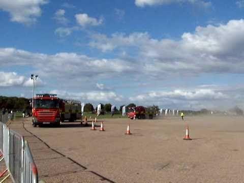 Fire training Newark-On-Trent Nottinghamshire