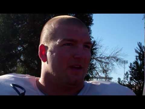 Tyler Shatley 4.5 spring practice