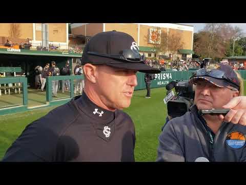 South Carolina coach Mark Kingston post Clemson
