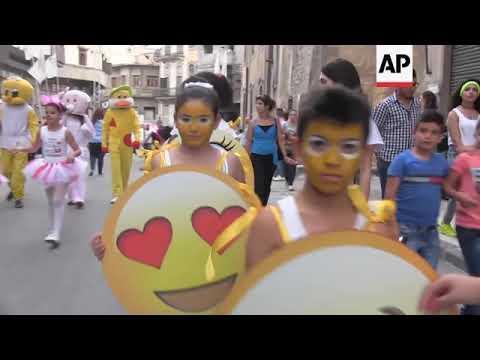 Christian festival celebrated in Homs