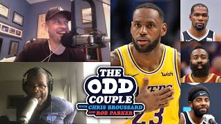 Nick Wright - Is Rob Parker Embarrassed Kevin Durant Needs James Harden to Beat LeBron?