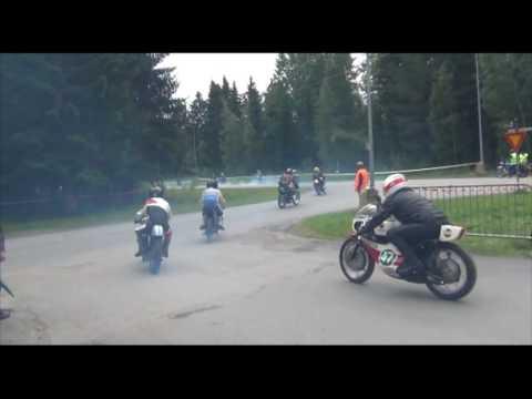 IZH Jupiter SH 11 350cc 1970 Russian Racer Orivesi, Finland 9.7.2016