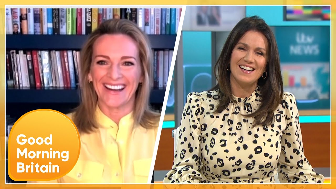 After Piers Is Accused of Fat-Shaming Her - Is Susanna Reid the Perfect Woman? | GMB