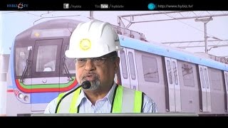 VB Gadgil MD L & T Metro Rail