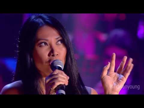 Anggun - The Christmas Song at Concerto Di Natale 2016