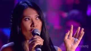 Anggun - The Christmas Song at Concerto Di Natale 2016