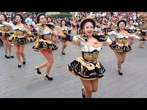 Chicas baile Saya Caporal 2019 (Virgen de la candelaria) - Lima Perú