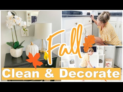 CLEAN & DECORATE WITH ME 2019 | FALL DECORATING IDEAS