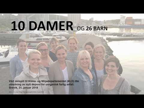 10 damer og 26 barn fra Brevik - Vårt høringsinnspill til deponi, NOAH vs. Raudsand
