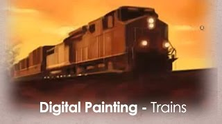 How to draw Trains in Photoshop