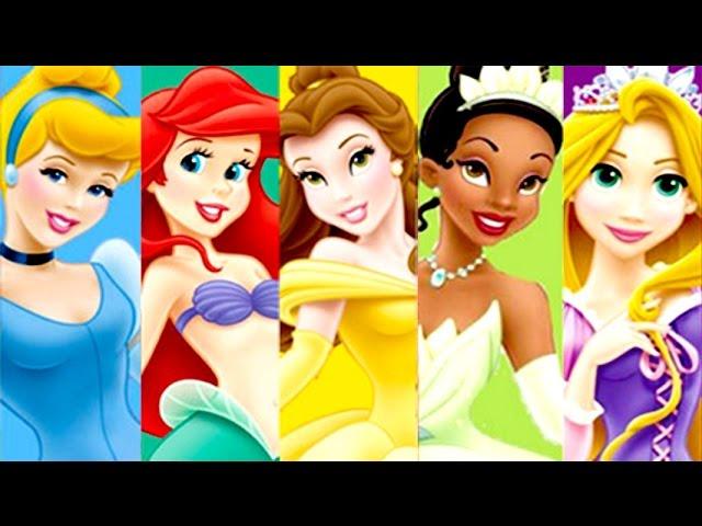 Princesas Disney Rapunzel Ariel Bella Y Cenicienta Juego De La Peliculas Disney Completa En Español Youtube