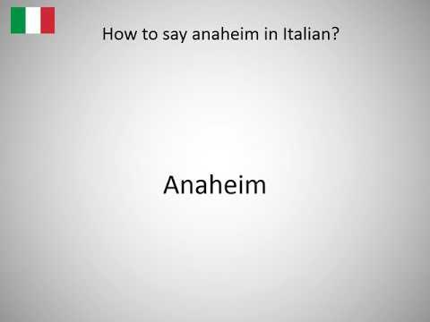 How do you spell anaheim