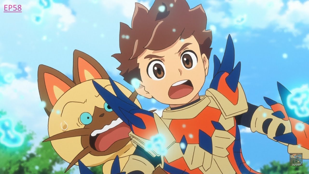 monster hunter stories anime