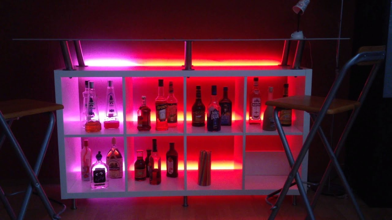 meine bar mit arduino led beleuchtung youtube. Black Bedroom Furniture Sets. Home Design Ideas