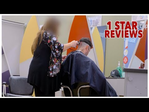 Haircut At The Worst Reviewed Barber in my City (Los Angeles)