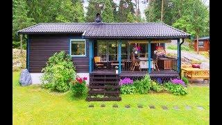 บ้านหลังเล็กๆ รูปทรงแนวยาวสี่เหลี่ยมผืนผ้า ไอเดียสำหรับทำบ้านสวนคอทเทจสไตล์