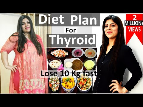 Thyroid Diet Plan For Weight Loss In Hindi | Weight Loss Thyroid diet plan In Hindi|Lose Weight Fast