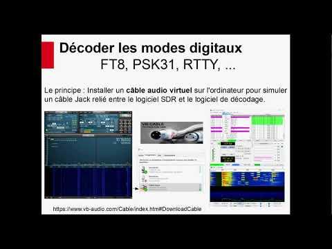 Conférence SDR HamExpo : Décodage modes numériques et digitaux