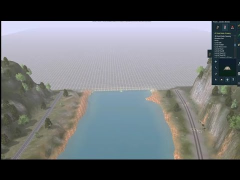 Trainz a New Era speed build: Building a new 6 mile stretch of my Three Rivers route