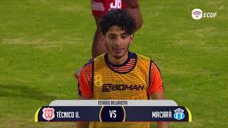 Copa Ecuador  Técnico Universitario Vs Macara  8avos De Final  Vuelta