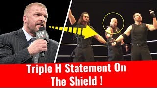 Triple H Statement On The Shield Triple H Join The Shield Recruit Triple H at WWE live event Glasgow