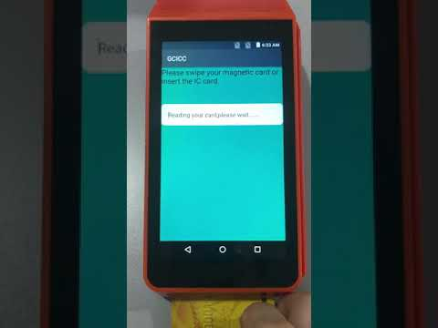Android Pos with Xamarin Android SDK- smart/magnetic card reader