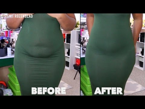 BODY SHAPING PANTY TRY ON!