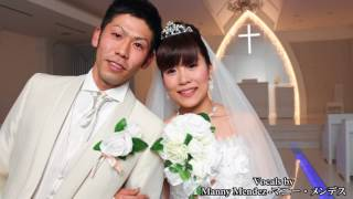 ベルクラシック帯広専属シンガー「マニーメンデス」による結婚式ソング。