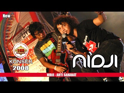 NIDJI - ARTI SAHABAT (LIVE KONSER KALIMANTAN TIMUR 2008)