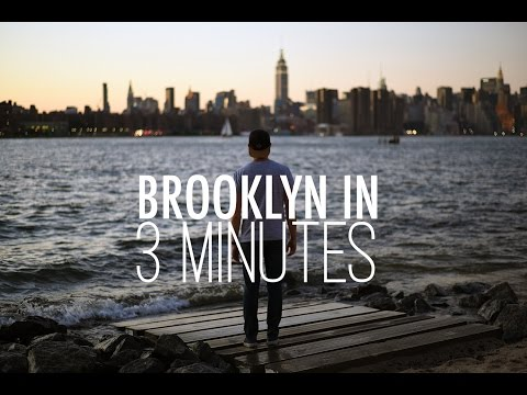 Visiter Brooklyn en 3 minutes