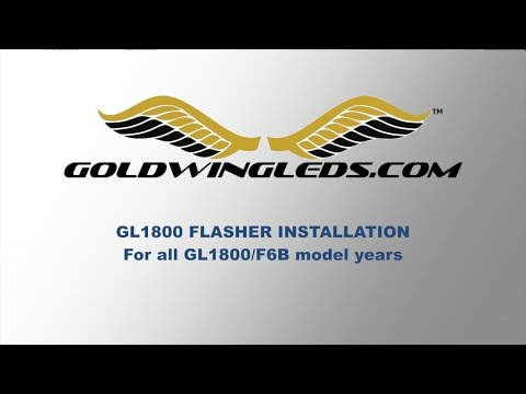 Install a New Flasher On A Honda GL1800 Goldwing