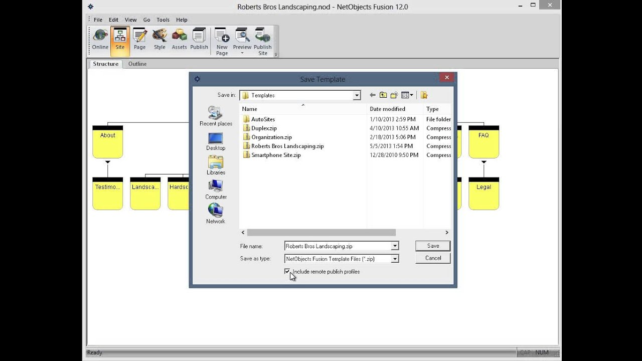 Free Download of NetObjects Fusion Essentials