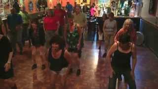 Getting Ready to Get Down line dance demo  by Jill Weiss