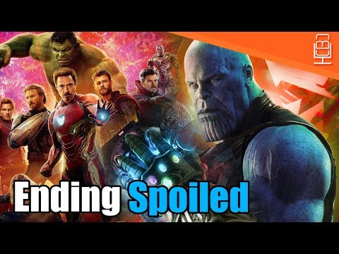Avengers Infinity War ENDING SPOILED? (MAJOR SPOILER)