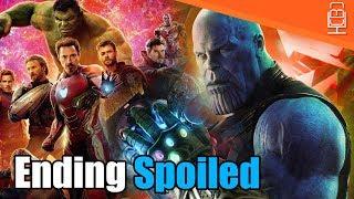 Avengers Infinity War ENDING SPOILED? (MAJOR SPOILER)
