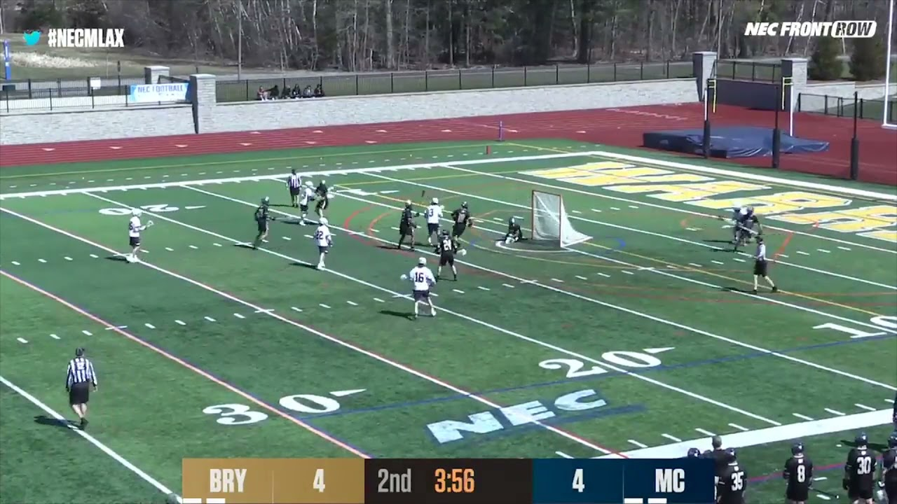 Merrimack College Men's Lacrosse Highlights vs Bryant