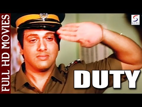 ड्यूटी | Duty (1986) | Full Hindi Movie | Govinda, Anupam Kher, Huma Khan, Arun Bakshi