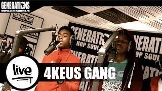 4keus Gang ft. X Djens - Ton choix / Avon Barksdale (Live des studios de Generations)