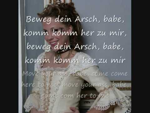 LaFee - Beweg Dein Arsch/Move Your Ass (English translation)
