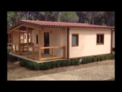 Video progettazione e produzione bungalow youtube for Todaro case mobili