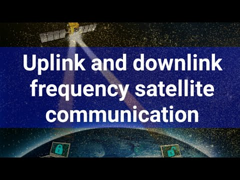 Communication Systems - Uplink And Downlink Frequency//BY SANJU